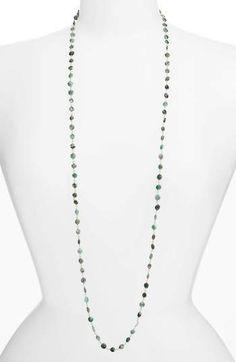Ela Rae Diana Coin Necklace In Emerald Emerald Necklace, Coin Necklace, Turquoise Necklace, Arrow Necklace, Beaded Necklace, Stone Beads, Diana, Coins, Delicate