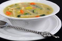 Vegetable Noodle Soup #vegetarian, #vegan #recipe
