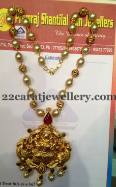 Trendy South Pearls Haar | Jewellery Designs