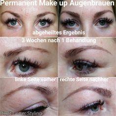 Nach ab wann make up permanent schminken Microblading