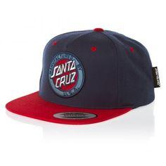 113c54250b7 Santa Cruz MF Vintage Dark Denim Snapback Cap