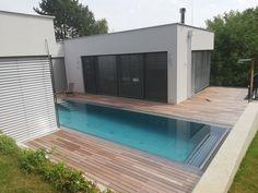 Edelstahlpool Montage, Deck, Home Appliances, Outdoor Decor, Home Decor, Swiming Pool, Swim, Garten, House Appliances