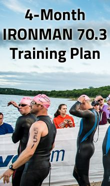 An IRONMAN 70.3 race is the perfect distance in so many ways. Sign up and get training with this no-frills plan.