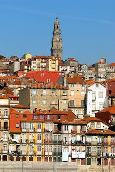 Oporto, capital of the Port wine, and the Ribeira district, UNESCO World Heritage Site, Portugal