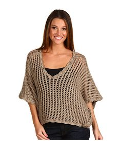 Pullover in crochet - Crochetemoda: Abril 2011