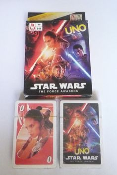 UNO Playing Cards Game Movie STAR WARS  The FORCE AWAKENS 2016 Pack Sealed NEW #UNO #UnoCards