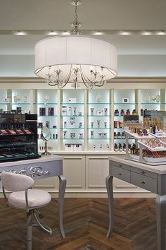 The beauty area of one of our Soft Surroundings stores. We've got the perfect beauty solutions for all women.