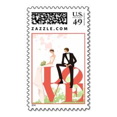 Wedding Love Postage