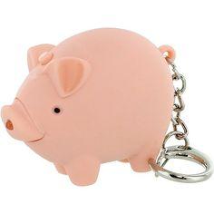 3x Pig Light-up and Sound LED Keychains -- Visit the image link more details.