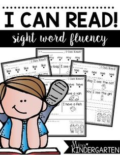 Are you students struggling with reading their sight words fluently? This pack offers great intervention and support to help your little readers blossom! It is also differentiated to meet your students needs.The pack includes touching and reading each sight word, finding the sight word and highlighting it in the sentence, reading the sentences 3 times for fluency, re-writing one sentence and drawing a picture for comprehension.One set includes picture clues to help your students decode the…