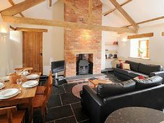 open plan cottage living space Cottage Living, Open Plan, Cottages, Living Spaces, Houses, Interiors, Future, Table, Ideas