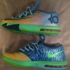 low priced cb317 d0d28 Nike Shoes   Liger Kd 6 Size 9   Color  Black   Size  9
