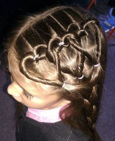 Bet Your Hair Wasn't This Cool In Kindergarten! Awesome Hair Styles For Little Girls • Page 3 of 11 • BoredBug