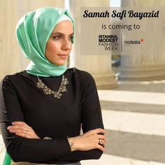 Famous Influencer and Filmmaker Samah Safi Bayazid will be at Istanbul Modest Fashion Week! You can follow her  instagram account from @samahsafi  Kanaat önderi Samah Safi Bayazid , İstanbul Modest Fashion Week͛te! Kendisinin keyifli instagram sayfasını takip etmek için @samahsafi #IstanbulModestFashionWeek #imfw #fashionshow #hijabfashion #alahijab #hijabchamber #modestymovement #modestfashion #hijabstyle #chichijab #hijabmuslim #istanbul #turkey #fashionweek #istanbulfashionweek #fashion…