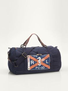 Sailing Rope Duffel - Polo Ralph Lauren Travel Bags - RalphLauren.com Mens  Carry On f9b64c64c0f74