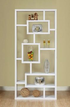 As a room divider between living and dining. But on it's side.