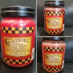 Candleberry Large in UK Ready to post powerfull longer lasting Scented Candles, Candle Jars, Salsa, Spices, Ebay, Food, Spice, Essen, Salsa Music