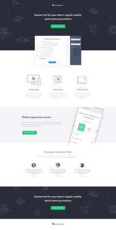 cta illustration iphone landing light page testimonial webdesign