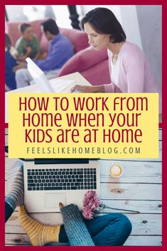 How to work from home effectively with kids - 12 tips from a veteran homeschool mom of 9 years. She works from home full time and explains how to be productive even with your kids around. Autism Learning, Play Based Learning, Learning Through Play, Fun Learning, Getting Bored, Getting Things Done, Ways To Destress, Overwhelmed Mom, Current Job