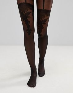07ff16b261c Wolford Allure Suspender Tights