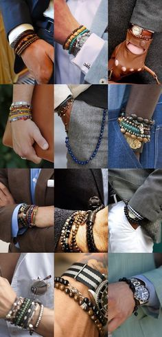 Bracelets Gentleman's Essentials