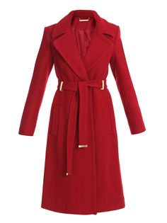 DIANE VON FURSTENBERG  MIKHAILA COAT  $905.00  With its lively hue, this red Mikhaila coat by DVF is the perfect antidote to winter blues. Wear this premium wool coat in the evening to make an eye-catching statement.  Product Code: 53054  matchesfashion.com  Need more Styling advice?  Email mystylist or phone +44 (0) 870 067 8838  ADDITIONAL COLOURS