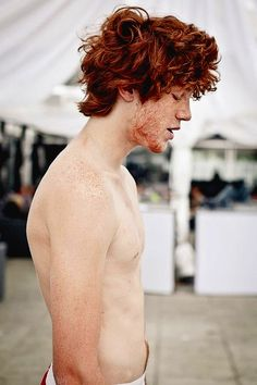 On Display - Pelo Guay, Der Pakt, Beautiful Men, Beautiful People, Redhead Men, Ginger Men, Portraits, Male Photography, Freckles