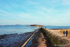 Cramond Island at rising tide. Check my post about this amazing wee island for more pics.
