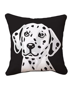 """Naked Decor """"Dalmatian"""" Decorative Pillow"""