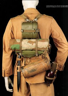 Afrikakorps, uniform uitrusting.