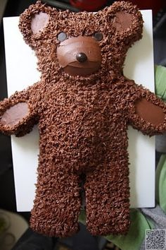 50. #Teddy Bear Cake! - 50 Easy Make #Animal Cakes for #Every Occasion ... →…