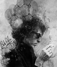 Bob Dylan / Schwarz -Weiß