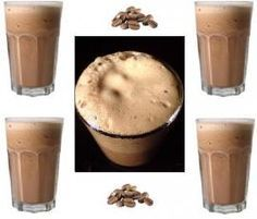 Recipe cremiger Eiskaffee (ohne Reue) by clkabo, learn to make this recipe easily in your kitchen machine and discover other Thermomix recipes in Getränke. Dessert Ww, Coctails Recipes, Thermomix Desserts, Frozen Yoghurt, Tasty, Yummy Food, Smoothie Drinks, Detox Drinks, Vegetable Drinks