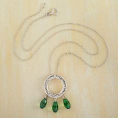 The luck of the Irish accompanies this hand-cast, symbolic jewelry.