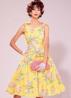 McCalls M7154 Archive Collection c1930 PATTERN Misses Dress Size 6-22