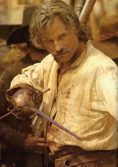 Viggo Mortensen in Captain Alatriste: The Spanish Musketeer