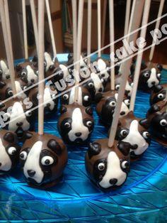 Boxer cake pops