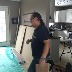 Deni on Instagram: Man on a mission....like helping to renovate my house. Thank you dad ...