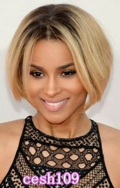 Love #Ciara inpired #ombre 3short #wig  #EvaWigs