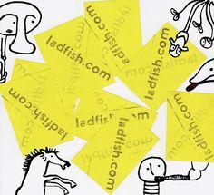 Vintage Ladfish Advert (ladvert).    ladfish.com