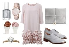 """...but I do know that I love You"" by mondscheingeheimnisse ❤ liked on Polyvore featuring Catherine Regehr, Office, Ivanka Trump, Anne Klein, Essie and Sin"