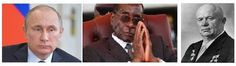 Mike Smith's Political Commentary: Putin, Mugabe or Khrushchev...which one will Zuma ...