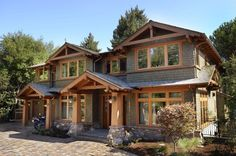 Craftsman Exterior of Home - Come find more on Zillow Digs!