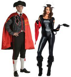 Sexy bull and matador couples costume