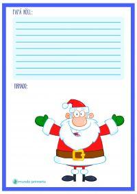 ¿Has escrito la carta a Papa Noel? Tenemos muchas cartas para Papa Noel y puedes imprimir la que más te guste. ¡Descubre las cartas de Papa Noel aquí!