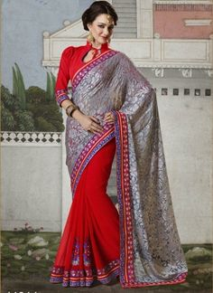 Designer saree Bahubali 44014 http://www.angelnx.com/Sarees