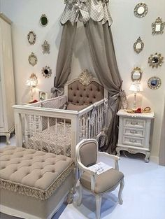 Baby nursery themes decorating ideas for room decor neutral ro . best nursery ideas images on gender neutral Baby Bedroom, Baby Room Decor, Nursery Room, Girl Nursery, Girls Bedroom, Baby Rooms, Baby Bedding, Chic Nursery, Room Baby