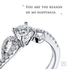 You are the reason of my happiness. #love #happiness #ajco #ajcollection #ring #EngagementRing #wedding # bride