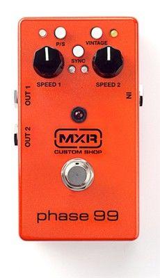 MXR Custom Shop CSP099 Phase 99 Guitar Effects Pedal