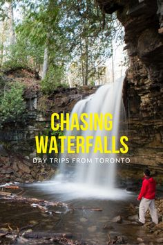 Day Trip Ideas from Toronto – Chasing Waterfalls Looking for things to do from Toronto? There are a number of waterfalls within 2 hours driving distance that are awesome to explore. Toronto Hotels, Toronto Travel, Ontario Travel, Canadian Travel, Day Trips, Weekend Trips, Get Outdoors, Travel Images, Ultimate Travel
